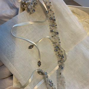 Sara Gabriel Bespoke Wedding Dress Belt